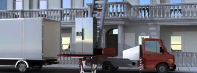 Louer un monte-meuble pour accélérer le déménagement.