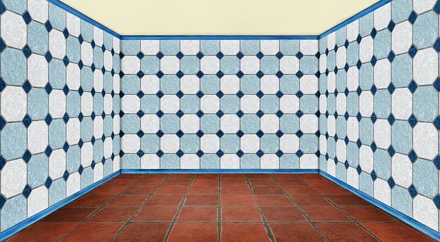 Faïence salle de bain : utiliser des tomettes dans une salle de bain, une fausse bonne idée?