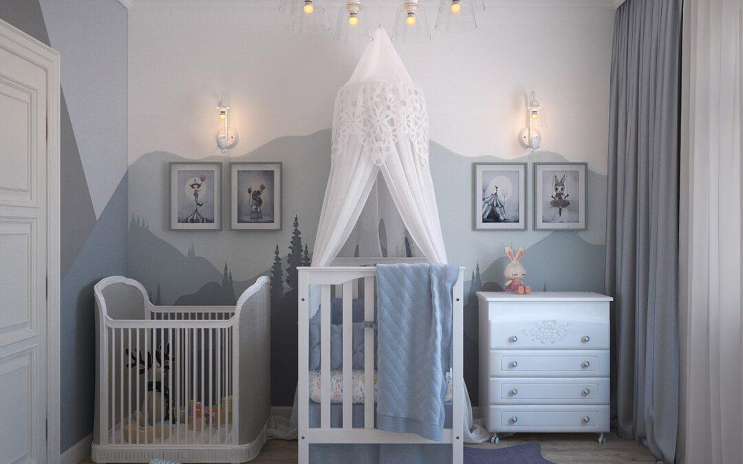 Chambre bébé : Voici l'essentiel à avoir pour la chambre de bébé