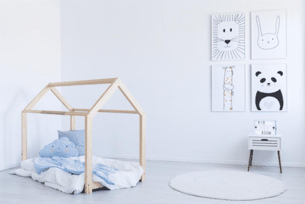 lit cabane bébé
