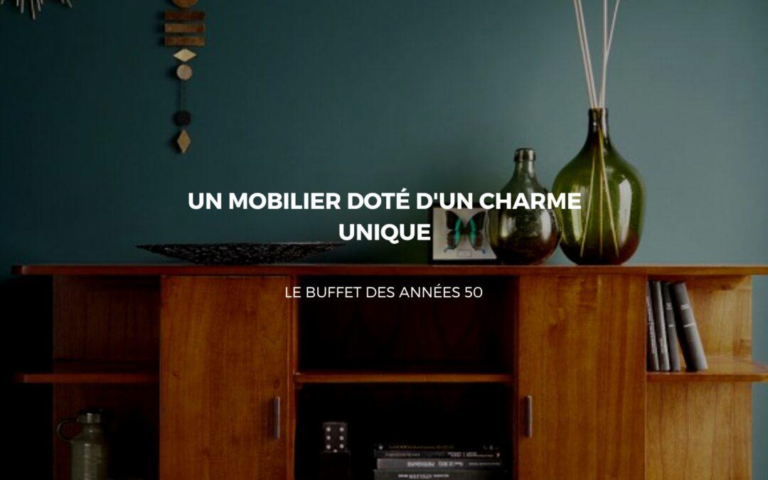 buffet style année 50
