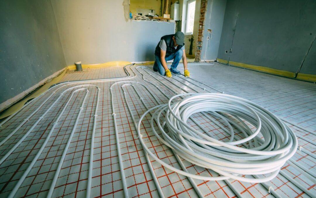 Économisez de l'énergie grâce au chauffage par le sol