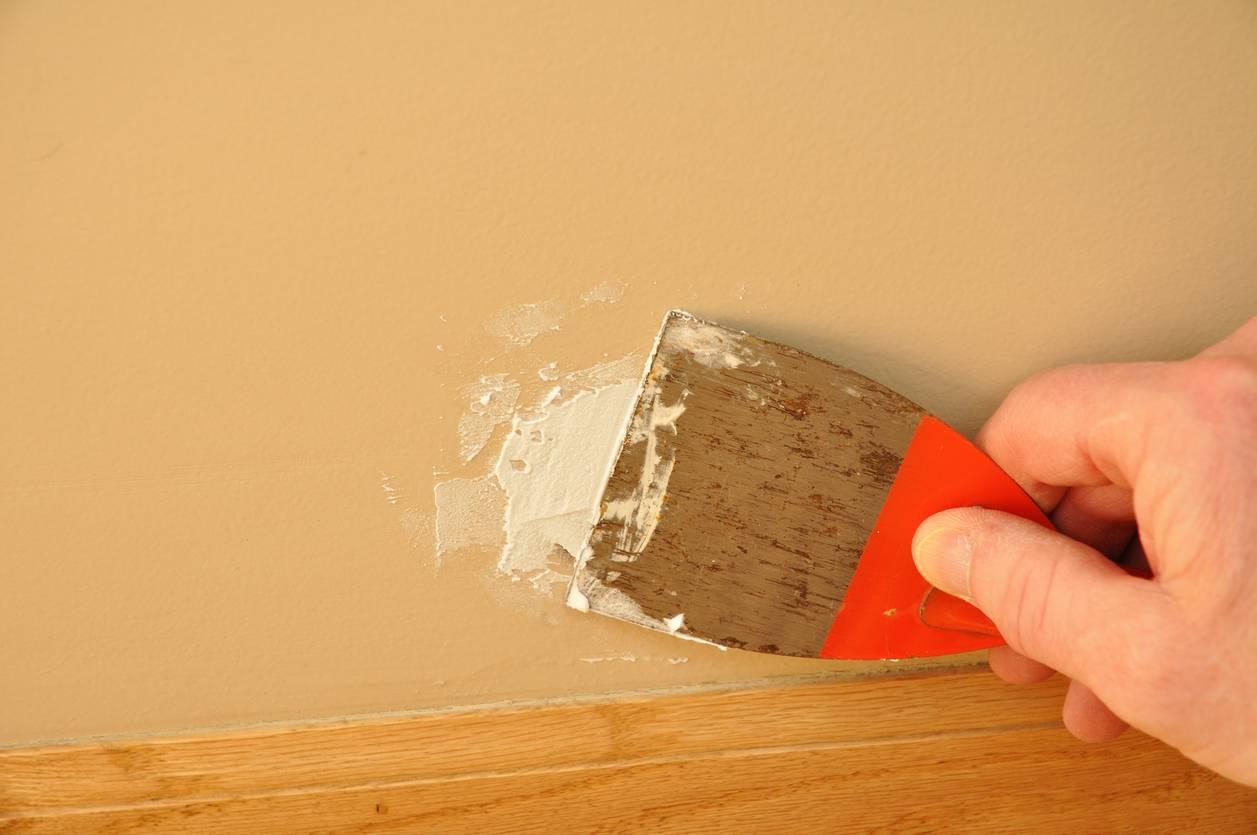 reboucher les murs
