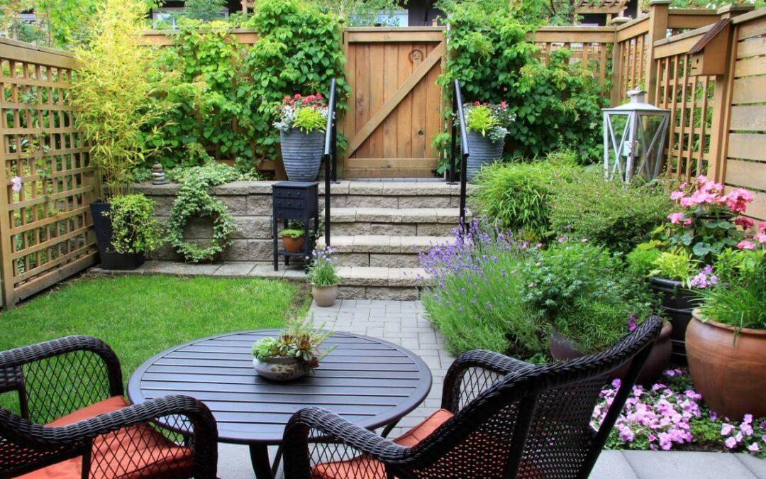 Aménagez le jardin pour recevoir