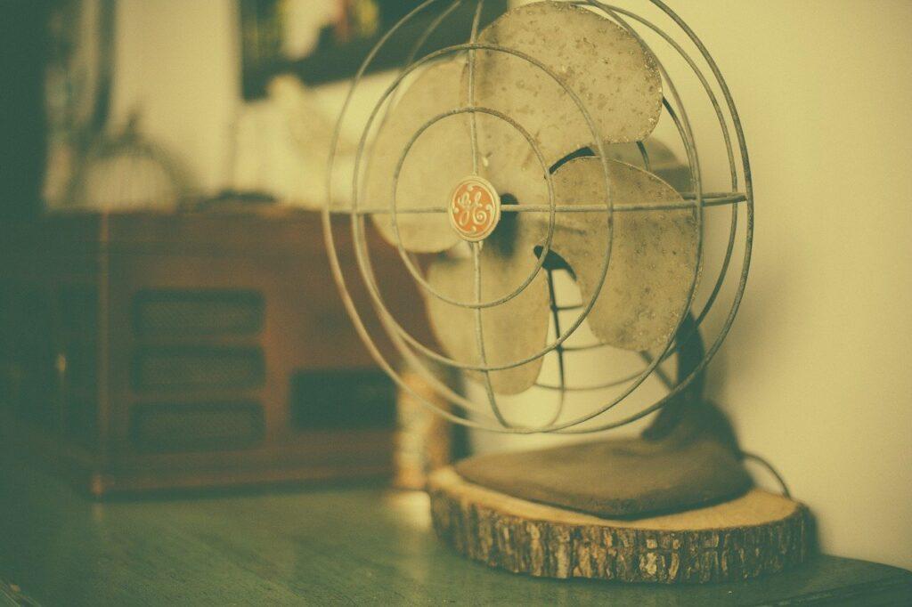 vieille ventilateur