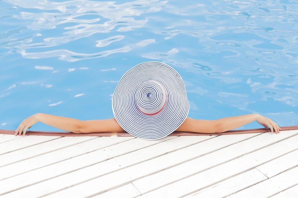 bain sur piscine hors sol