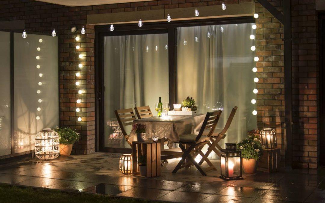 L'éclairage d'ambiance pour préparer les soirées d'été