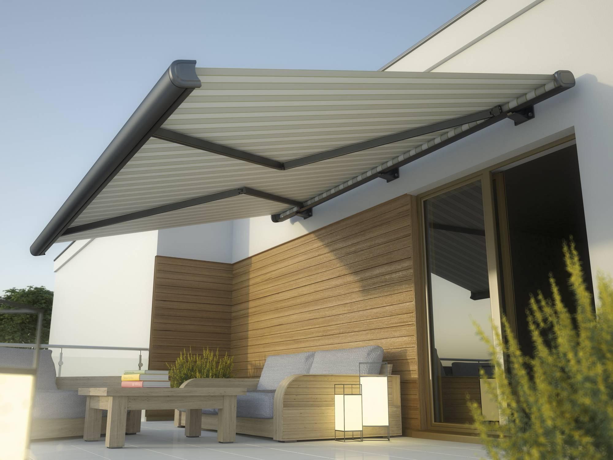 store banne balcon terrasse jardin