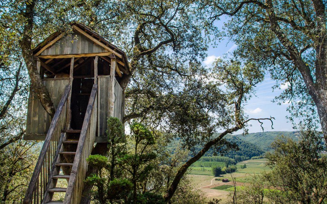 3 bonnes raisons de construire une cabane pour votre enfant
