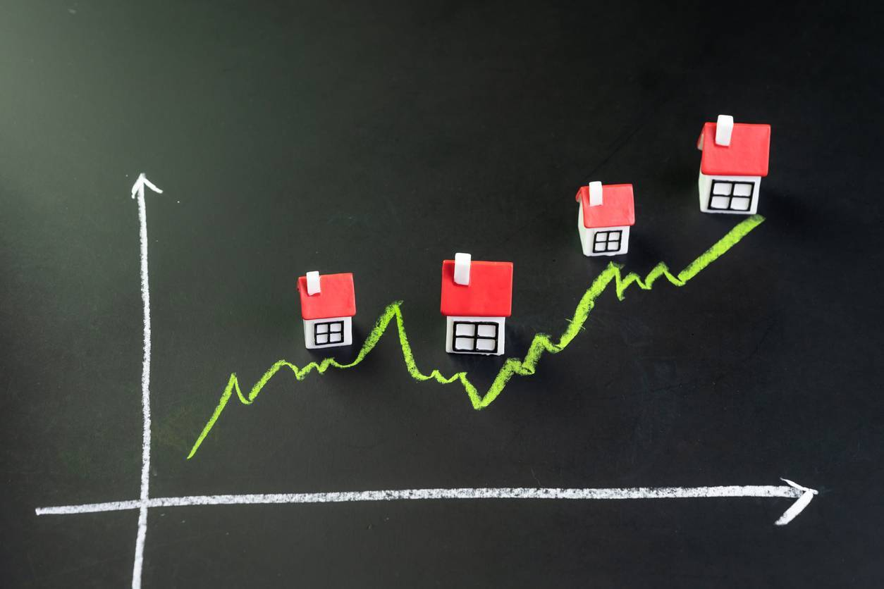 amélioration prix de vente bien immobilier