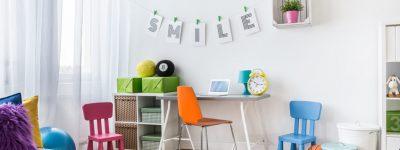 Aménagement: comment décorer la chambre d'une petite fille?