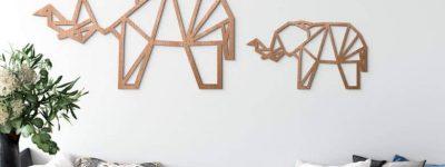 5 idées originales de décoration d'intérieur avec des éléphants